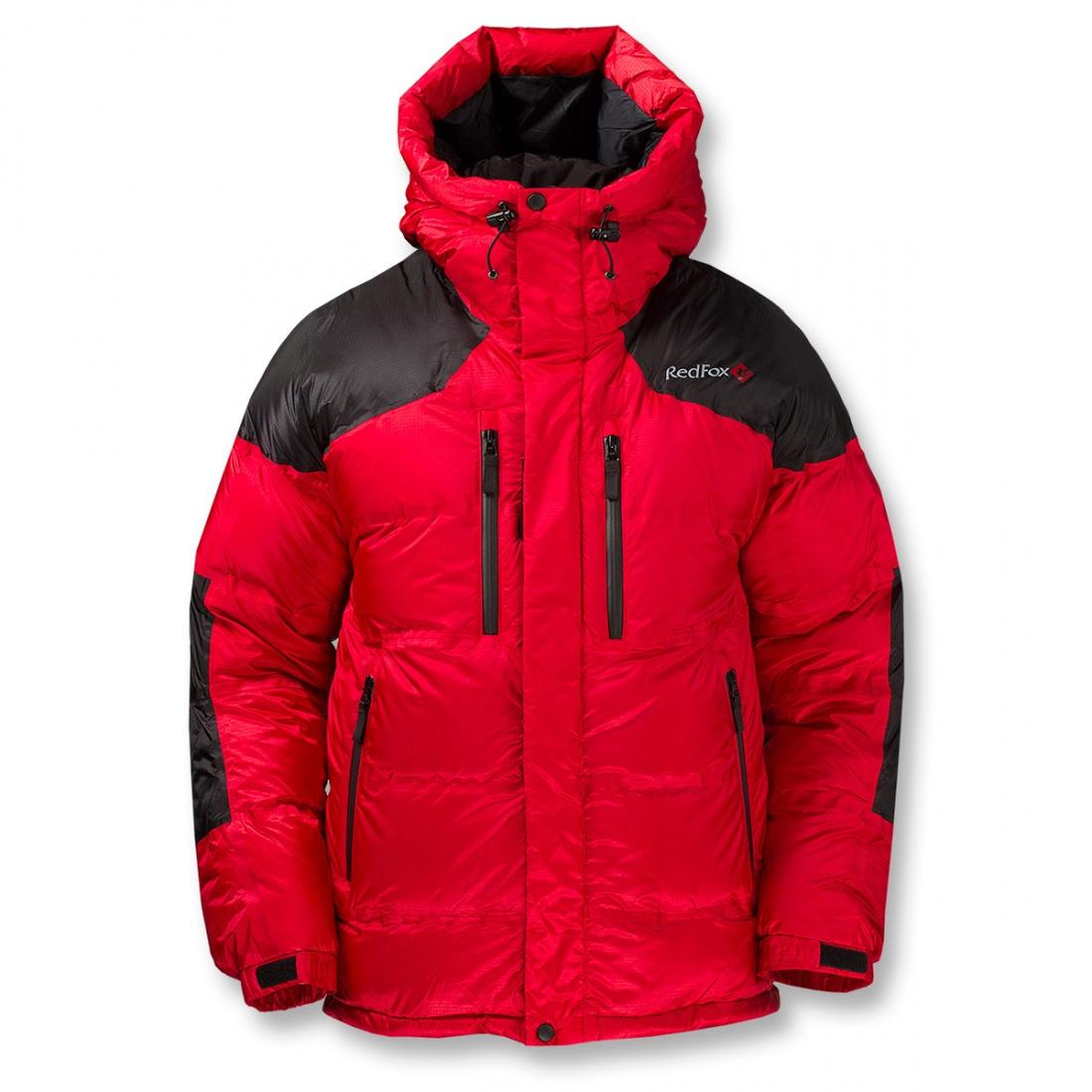 Red Fox Куртка пуховая Extreme II (58, 1310/красный/черный, ,)