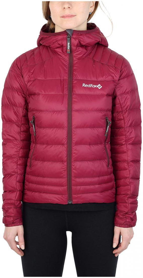 Куртка утепленная Quasar ЖенскаяКуртки<br><br> Cверхлегкая и компактная куртка, выполнена с применением композитного утеплителя PrimaLoft® Down Blend Silver, в равной степени рассчитана на использование в качестве наружного или второго утепляющего слоя.<br><br><br>материал: 100% Nylon ri...<br><br>Цвет: Малиновый<br>Размер: 42
