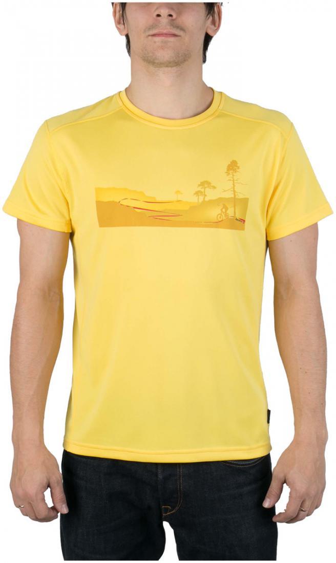 Футболка Ride T МужскаяФутболки, поло<br><br> Легкая и функциональная футболка свободного кроя из материала с высокими влагоотводящими показателями. Может использоваться в качест...<br><br>Цвет: Желтый<br>Размер: 54