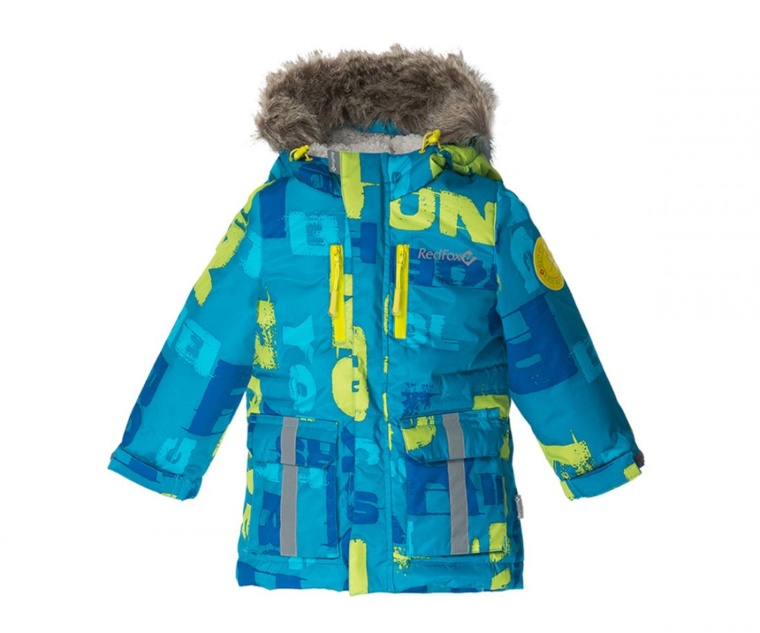 Куртка утепленная Foxy Baby IIКуртки<br><br><br>Цвет: Синий<br>Размер: 110