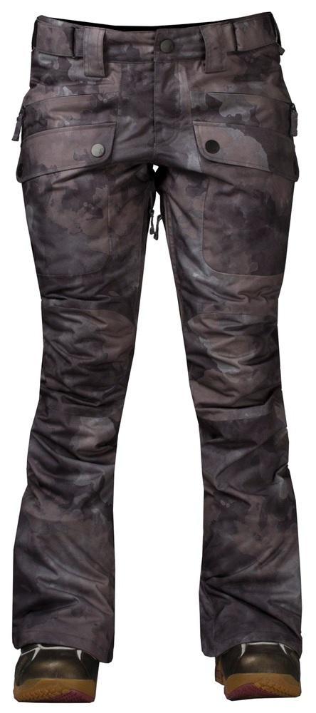 Штаны сноубордические утепленные Tune WБрюки, штаны<br>Утепленные штаны для стильных девушек. Модель Tune W обладает свободной посадкой на бёдрах и зауженными штанинами. Накладные карманы спере...<br><br>Цвет: Темно-серый<br>Размер: 46