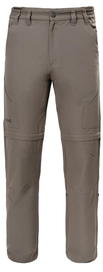 Брюки-трансформеры Arizona МужскиеБрюки, штаны<br>Удобные мужские брюки-трансформеры из высокотехнологичной эластичной ткани. Благодаря свободной посадке и элементам спортивного кроя модель прекрасно подходит для использования в повседневной жизни, во время длительных путешествий и треккинга.<br>&lt;ul...<br><br>Цвет: Серый<br>Размер: M