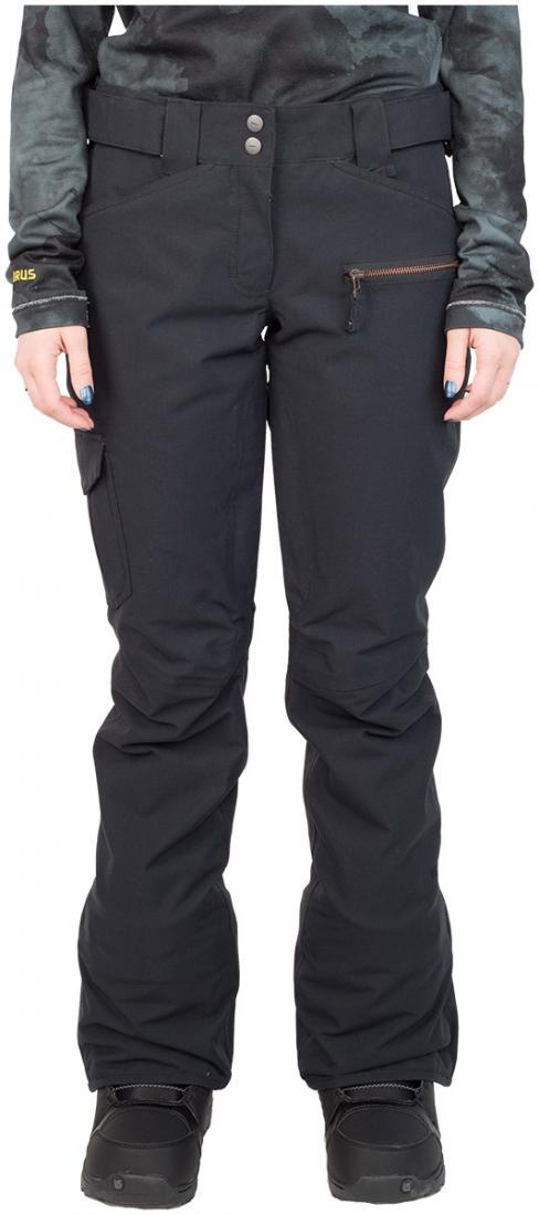 Штаны сноубордические утепленные Norm женскиеБрюки, штаны<br>Женская модель штанов Norm W оснащена зональным утеплением. Она обладают всеми основными характеристиками классических сноубордических ш...<br><br>Цвет: Черный<br>Размер: 42