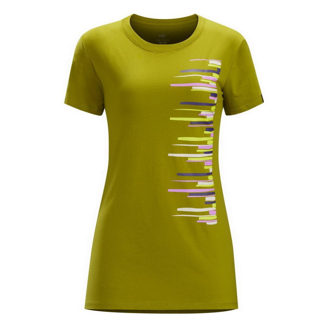 Футболка Horizons SS T-Shirt жен.Футболки, поло<br><br><br>Цвет: Хаки<br>Размер: S
