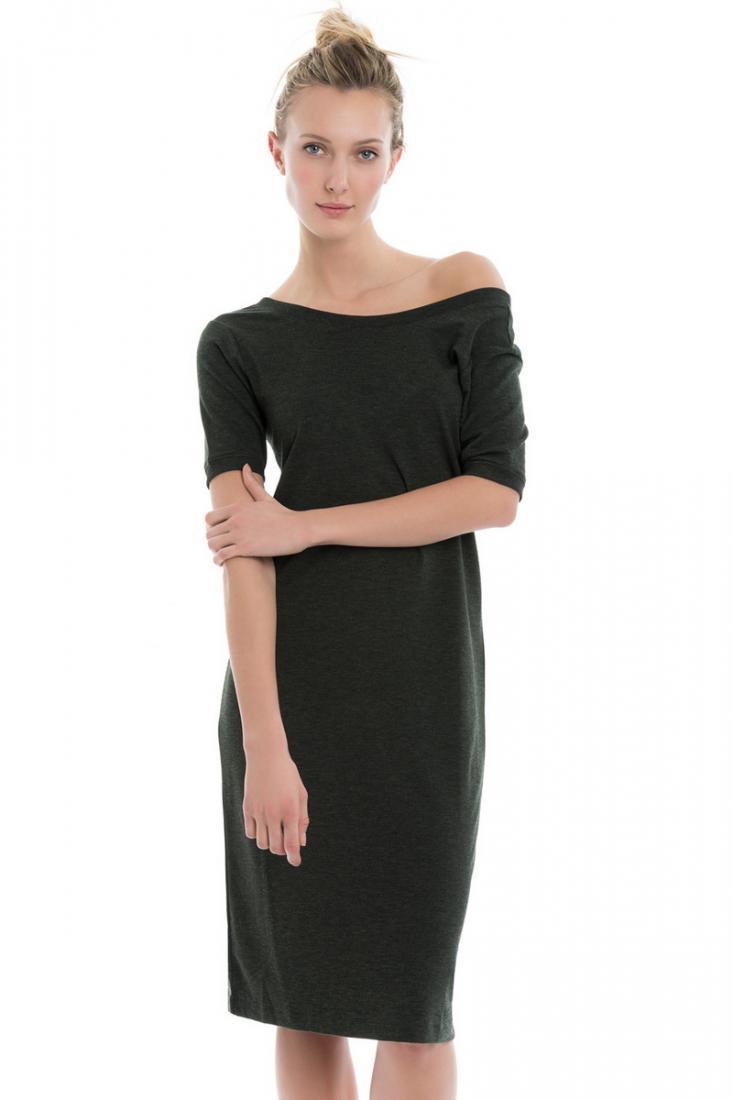 Платье LSW1709 CALLY DRESSПлатья<br>Ультра-мягкий дизайн платья Cally создан для размеренной прогулки после интенсивной тренировки или исключительного удобства во время повс...<br><br>Цвет: Черный<br>Размер: M