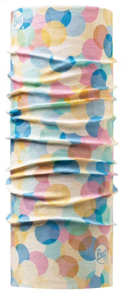 Бандана ORIGINALБанданы<br><br> Бандана ORIGINAL – бесшовный головной убор, выполненный в форме трубы. Эта знаменитая модель от бренда Buff известна своей функциональностью: она легко растягивается, превращаясь то в шарф, то в защитную маску, то в стильную шапку. Инновационная тк...<br><br>Цвет: Небесно-голубой<br>Размер: None