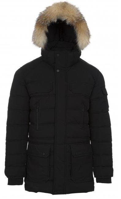 Куртка утепленная мужская DAWSONПуховики<br>Просим уточнять вид используемого меха в модели у менеджеров клиент-центра. <br>Мужская стеганая парка. Прекрасно сочетает в себе комфорт, стиль и функциональность. Капюшон со съемной опушкой из натуральн...<br><br>Цвет: Темно-серый<br>Размер: XL