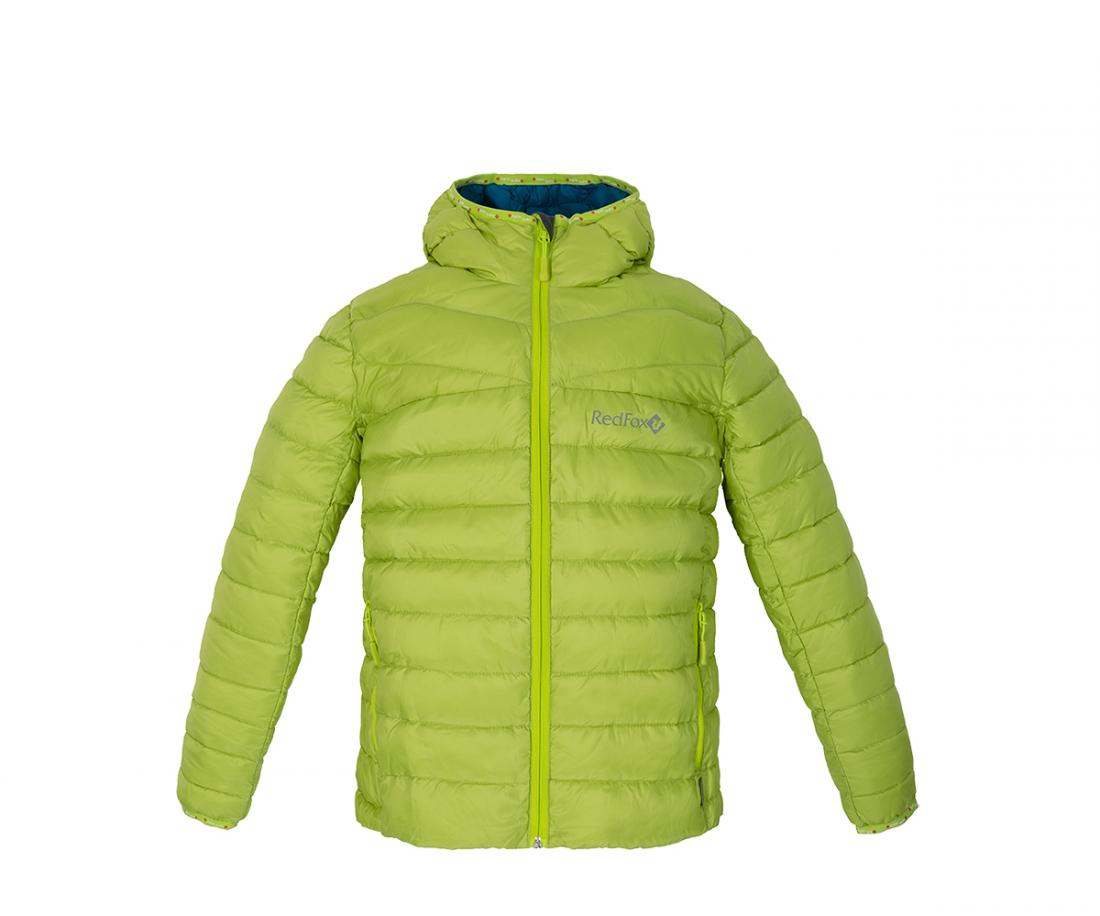 Куртка пуховая Air KidsКуртки<br><br><br>Цвет: Салатовый<br>Размер: 134