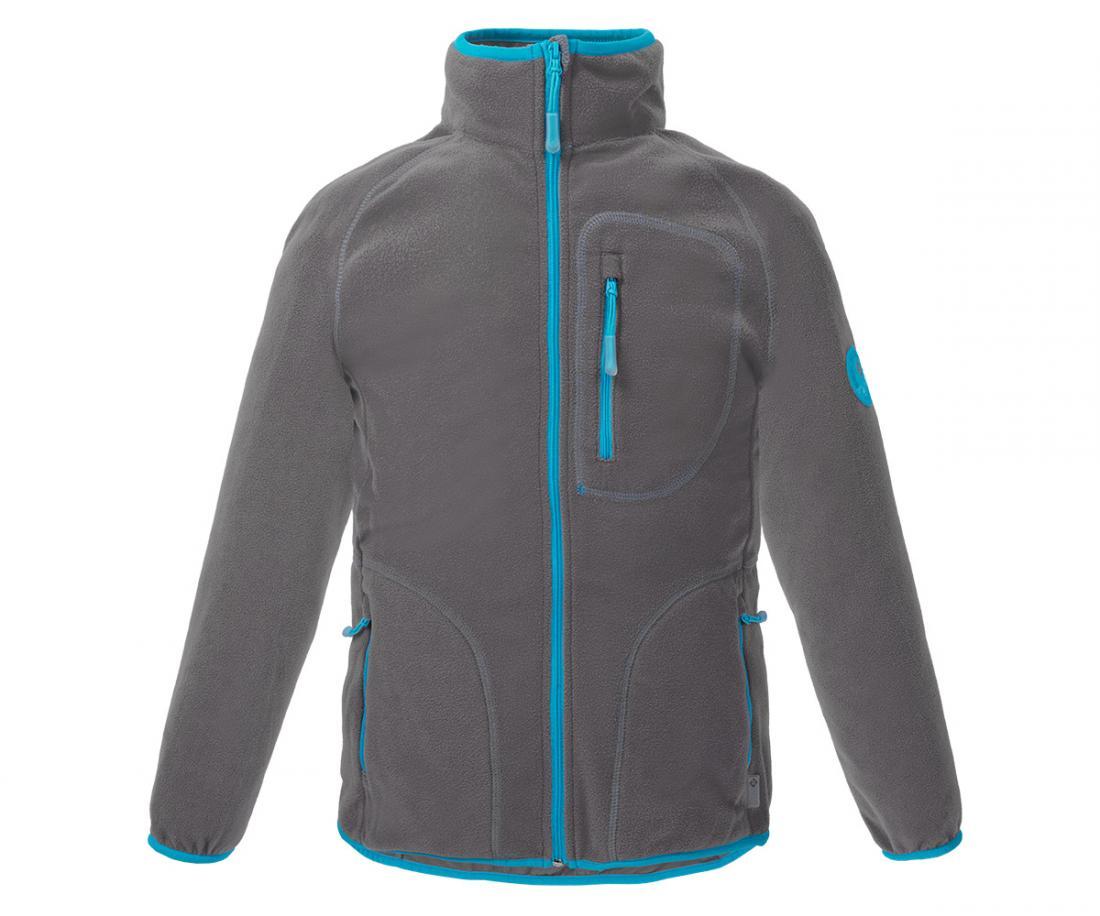 Куртка Hunny ДетскаяКуртки<br>Классическая куртка из флиса. Теплый уютный флис согреет вашего ребенка в прохладную погоду и станет превосходным дополнительным утеплением в морозное время года.<br> <br><br>Материал – Polar Fleece.<br>Защита для подбородка.<br>&lt;li...<br><br>Цвет: Темно-серый<br>Размер: 152