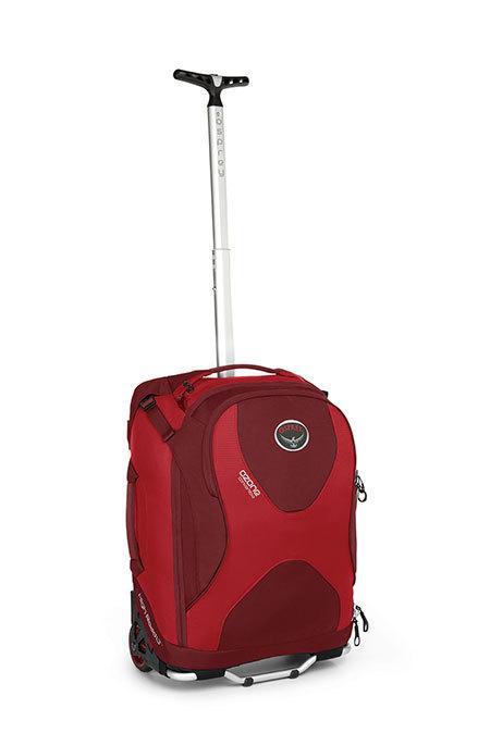 Сумка на колёсах Ozone 36Сумки<br><br><br>Цвет: Красный<br>Размер: 36 л