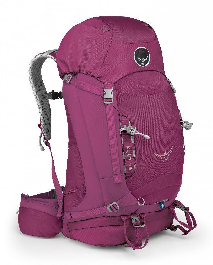 Рюкзак Kyte 46Рюкзаки<br> Универсальные всесезонные рюкзаки серии Kyte разработаны с учетом анатомических особенностей женской фигуры. Cпециальная накидка от дожд...<br><br>Цвет: Розовый<br>Размер: 46 л