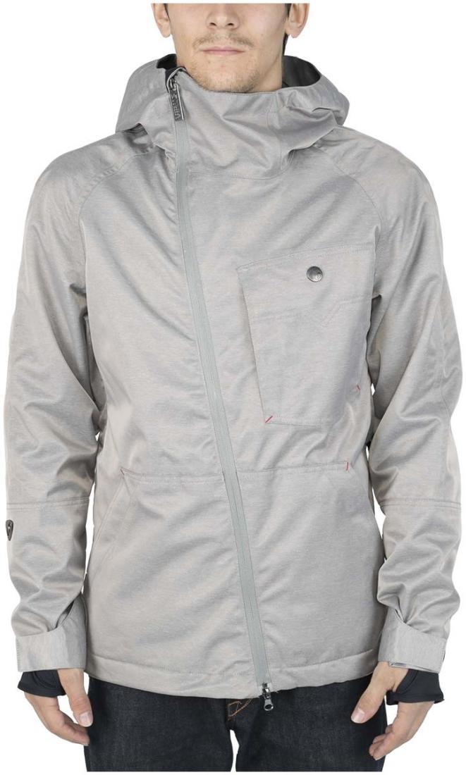 Куртка легкая TarOsКуртки<br><br> Функциональные особенности в сочетании с интересной дизайнерской задумкой. По сравнению с прошлым сезоном мы изменили посадку, сделав...<br><br>Цвет: Серый<br>Размер: 44
