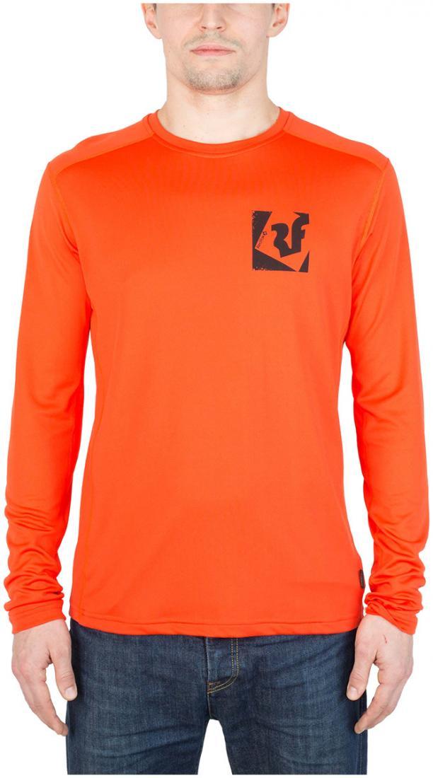 Футболка Trek T LS МужскаяФутболки, поло<br><br> Легкая и функциональная футболка, выполненная из влагоотводящего и быстросохнущего материала.<br><br><br>основное назначение: горные походы, треккинг, туризм<br>свободный крой<br>комфортный вырез горловины округлой формы...<br><br>Цвет: Оранжевый<br>Размер: 48