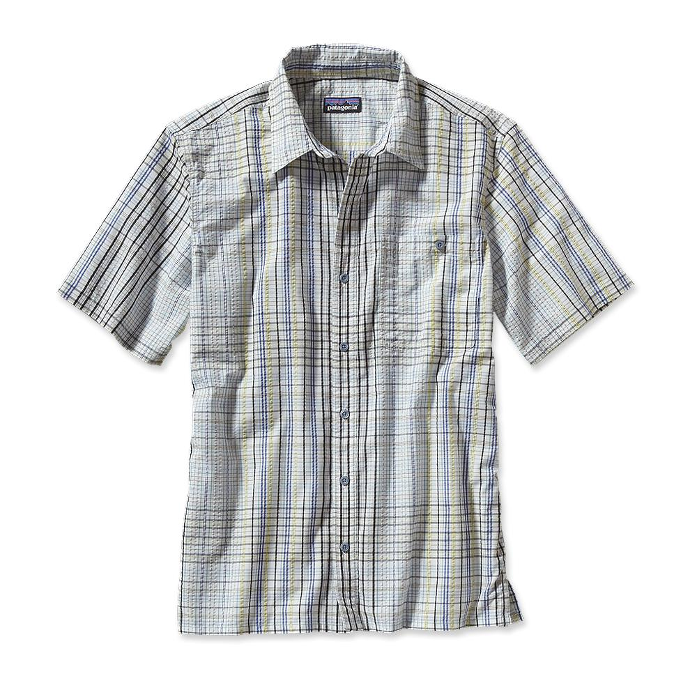 Patagonia Рубашка 53003 M'S PUCKERWARE SHIRT (XS, Raw Linen, , SS14)
