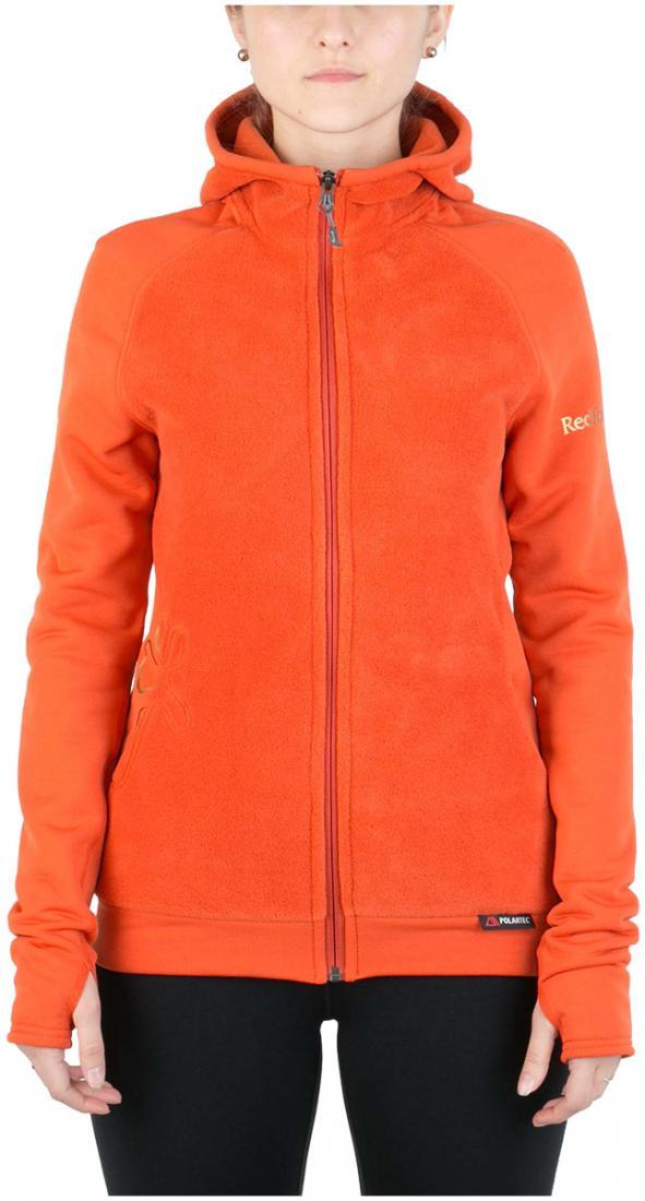 Куртка Dream ЖенскаяКуртки<br><br> Городская теплая куртка, выполненная из комбинации материалов Polartec® 200 и Polartec® Power Stretch® Pro™. Можно использовать в качестве наружной кур...<br><br>Цвет: Оранжевый<br>Размер: 42