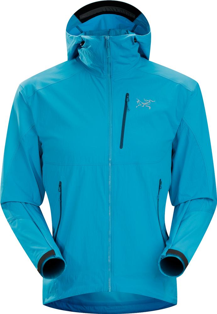 Куртка Gamma SL Hybrid Hoody муж.Куртки<br><br> Стильная альпинистская мужская куртка Arcteryx Gamma SL Hybrid Hoody объединила в себе массу преимуществ. Она легкая, но теплая, ветрозащитная, но ды...<br><br>Цвет: Голубой<br>Размер: M
