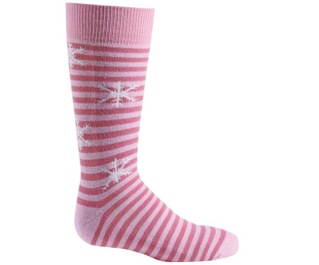 Носки детские 5112 PippiНоски<br><br> Изготовленные с применением технологии Thermolite®, эти тонкие и теплые носки создают поддержку стопы и обладают идеальной посадкой с учетом анатомических особенностей ребенка (девочек). Благодаря уникальной системе переплетения волокон Wick Dry®, ...<br><br>Цвет: Розовый<br>Размер: XS