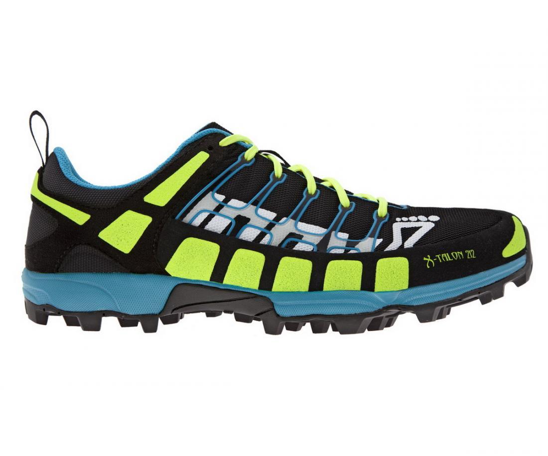 Кроссовки мужские X-talon 212 (S)Бег, Мультиспорт<br><br><br> Мужская модель кроссовок Inov-8 X-talon 212 (S) принесла немало побед в соревнованиях по бегу в условиях бездоро...<br><br>Цвет: Черный<br>Размер: 9.5