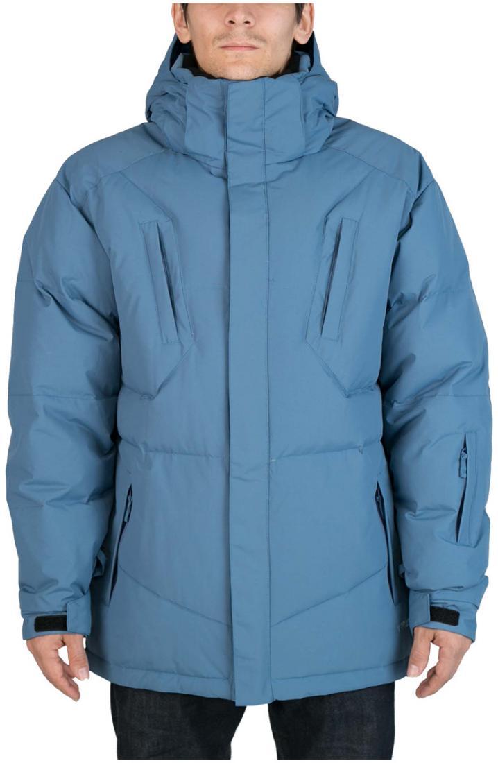 Куртка пуховая Booster IIКуртки<br><br><br>Цвет: Кобальт<br>Размер: 54