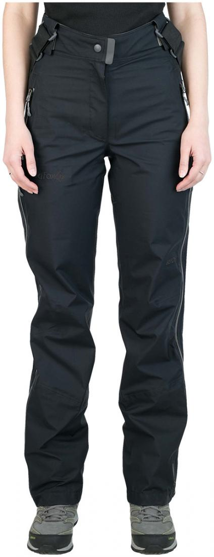 Брюки ветрозащитные Vega GTX II ЖенскиеБрюки, штаны<br><br><br>Цвет: Черный<br>Размер: 48