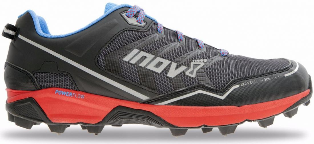 Inov-8 Кроссовки Arctic Claw 300 THERMO (6, Grey/Red/Blue, , ,) inov 8 кроссовки roclite™ 282 gtx муж 12 black blue