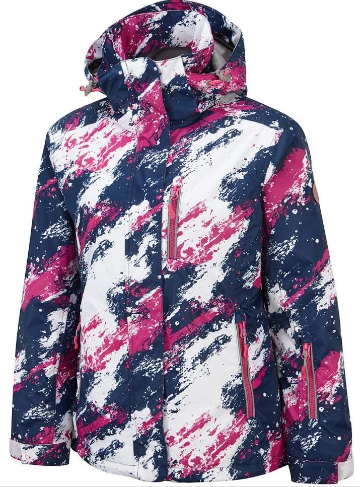 Куртка утепленная ASARA 10K/10K жен.Куртки<br>Женская куртка  Asara изготовленная из высококачественных водонепроницаемых и дышащих материалов, это классическая и стильная лыжная куртка, которая поможет вам выглядеть настоящим профессионалом на склонах. Такие особенности как: снегозащитные манжеты...<br><br>Цвет: Синий<br>Размер: S