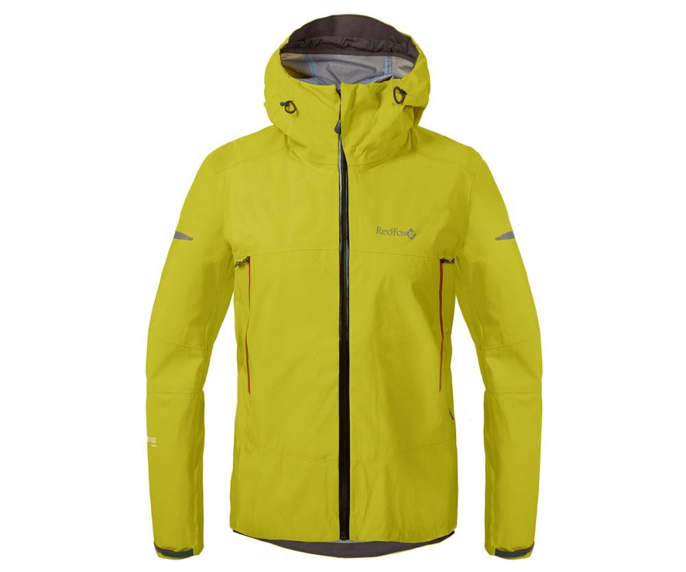 Куртка ветрозащитная SkyКуртки<br><br>Новейшая разработка в серии штормовых курток Red Fox, изготовлена из инновационного материала GORE-TEX® Active Products: самый низкий вес при высокой прочности и самые высокие показатели паропроницаемости при максимальной защите от дождя и ветра.<br>&lt;/...<br><br>Цвет: Салатовый<br>Размер: 42