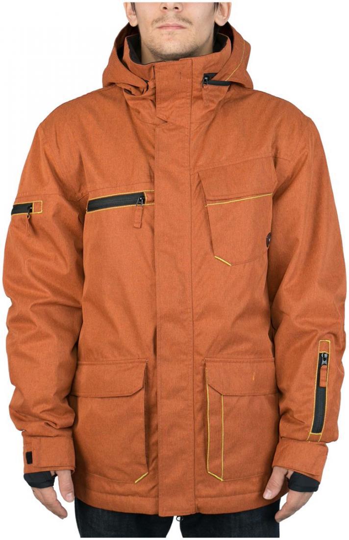 Куртка утепленная STarКуртки<br><br><br>Цвет: Коричневый<br>Размер: 54