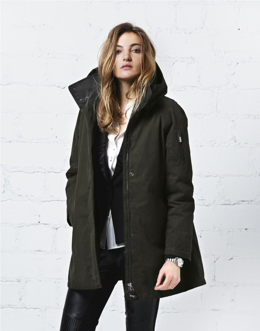Куртка утепленная жен.EllingtonКуртки<br><br><br>Цвет: Черный<br>Размер: XS