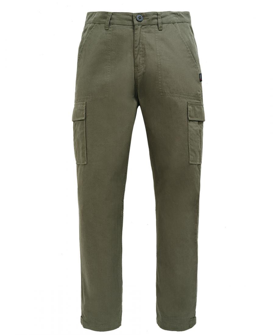 Брюки Cargo ДетскиеБрюки, штаны<br>Комфортные брюки-карго из 100% хлопка. Свободный силуэт, четыре боковых кармана и завязки на поясе обеспечивают комфорт. Детская модель выполнена в таких же цветах, что и модели из взрослой коллекции.<br><br>материал: 100% Cotton, 180g/sqm...<br><br>Цвет: Хаки<br>Размер: 152