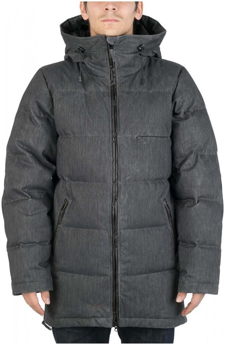 Куртка пуховая EclipseКуртки<br><br>Пуховая куртка с минималистичным дизайном, изготовлена из денима трех цветов, в черном и сером вариантах с ваксовым покрытием. eclipse буде...<br><br>Цвет: Черный<br>Размер: 48