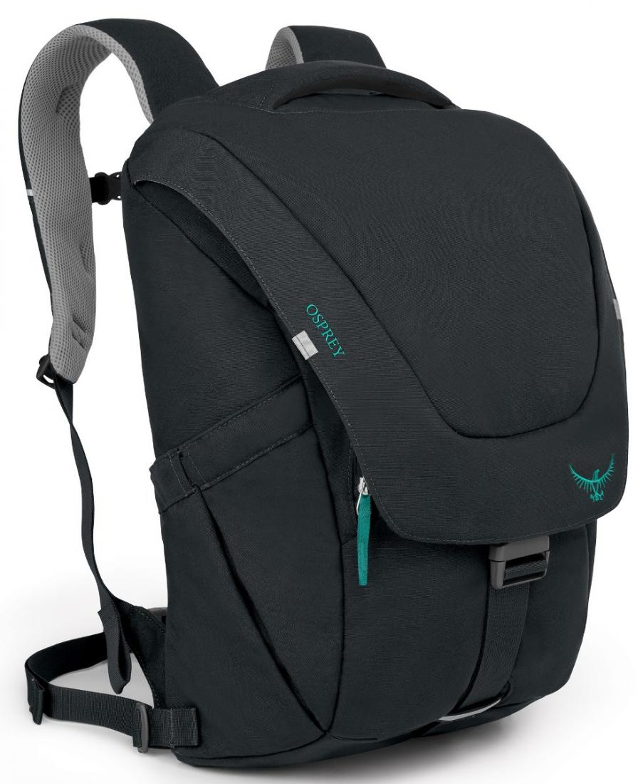 Рюкзак Flap Jill PackРюкзаки<br><br>Стильный и удобный рюкзак Flap Jill Pack, сконструированный с учетом строения женской фигуры, имеет несколько функциональных особенностей, способных облегчить «жизнь на ходу». Мягкие лямки и вентилируемая конструкция спины с сеткой подарят комфорт н...<br><br>Цвет: Черный<br>Размер: 24 л