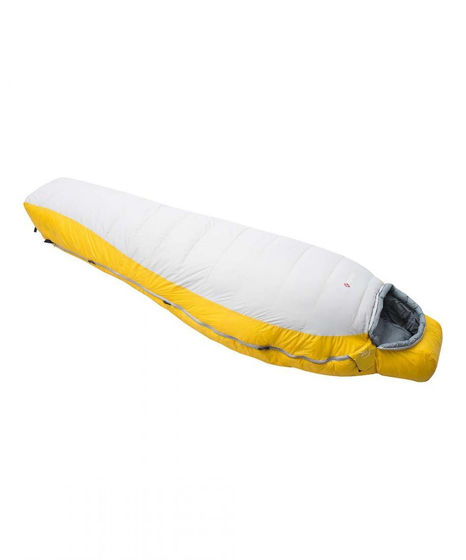 Спальный мешок пуховый Yeti-20 leftЭкстремальные<br>Серия теплых пуховых спальных мешков, рассчитанных на использование при очень низких температурах во время высотных альпинистских восхождений и зимних альпинистских экспедиций. Благодаря применению натурального гусиного пуха высочайшей степени качества...<br><br>Цвет: Желтый<br>Размер: Regular