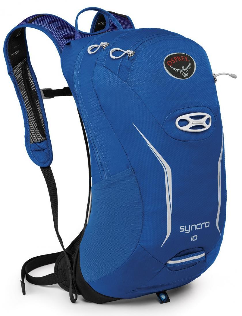 Рюкзак Syncro 10Рюкзаки<br>Хотите приехать в место назначения, сохранив комфорт, спокойствие и собранность? Рюкзаки серии Syncro стали еще компактнее и легче. Обеспечи...<br><br>Цвет: Синий<br>Размер: 9 л