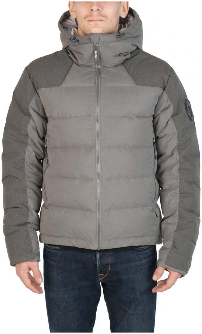Куртка пуховая Nansen МужскаяКуртки<br><br> Пуховая куртка из прочного материала мягкой фактурыс «Peach» эффектом. стильный стеганый дизайн и функциональность деталей позволяют использовать модельв городских условиях и для отдыха за городом.<br><br><br>  Основные характеристики <br>&lt;...<br><br>Цвет: Темно-серый<br>Размер: 46