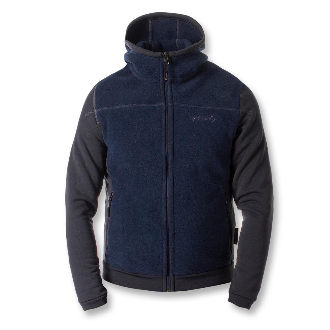 Куртка Dream МужскаяКуртки<br><br> Городская теплая куртка, выполненная из комбинации материалов Polartec® 200 и Polartec® Power Stretch® Pro™. Можно использовать в качестве наружной куртки в прохладную и безветренную погоду, а также, в качестве среднего утепляющего слоя зимой.<br>&lt;/p...<br><br>Цвет: Синий<br>Размер: 56