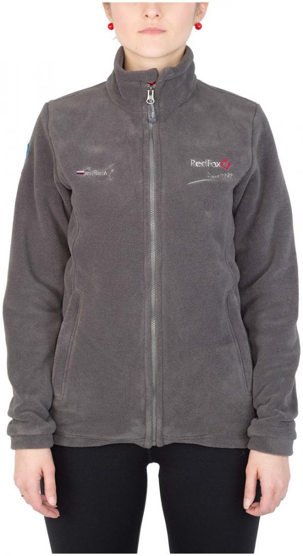Куртка Peak III ЖенскаяКуртки<br><br> Эргономичная куртка из материала Polartec® 200. Обладает высокими теплоизолирующими и дышащими свойствами, идеальна в качестве среднего утепляющего слоя.<br><br><br>основное назначение: походы, загородный отдых<br>воротник – стойка&lt;/...<br><br>Цвет: Темно-серый<br>Размер: 44