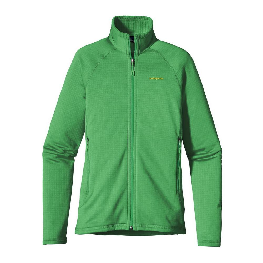 Куртка 40137 WS R1 FULL-ZIP JKTКуртки<br><br> Флисовый жакет Patagonia R1 Full-Zip создан для женщин, которые предпочитают зимние виды спорта и активный отдых. Модель дарит тепло и комфорт, и ...<br><br>Цвет: Светло-зеленый<br>Размер: M