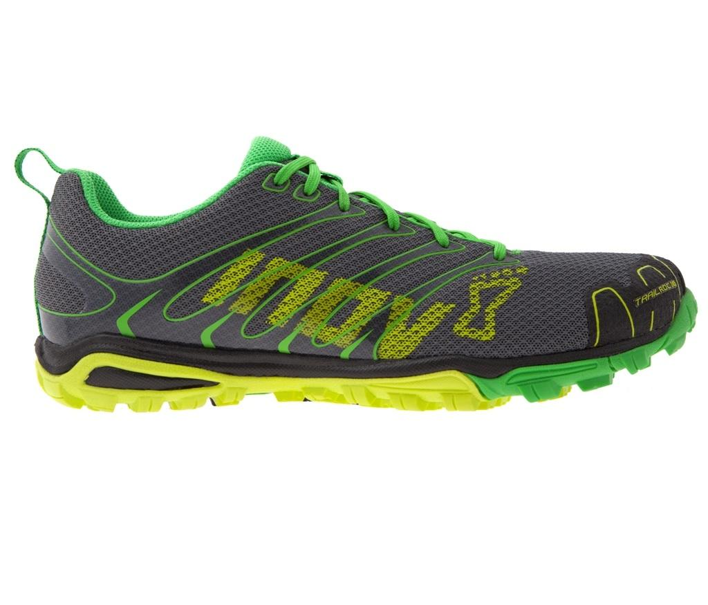 Inov-8 Кроссовки Trailroc 245 (8, Grey/Yellow/Green, ,) inov 8 сумка all terrain kitbag black