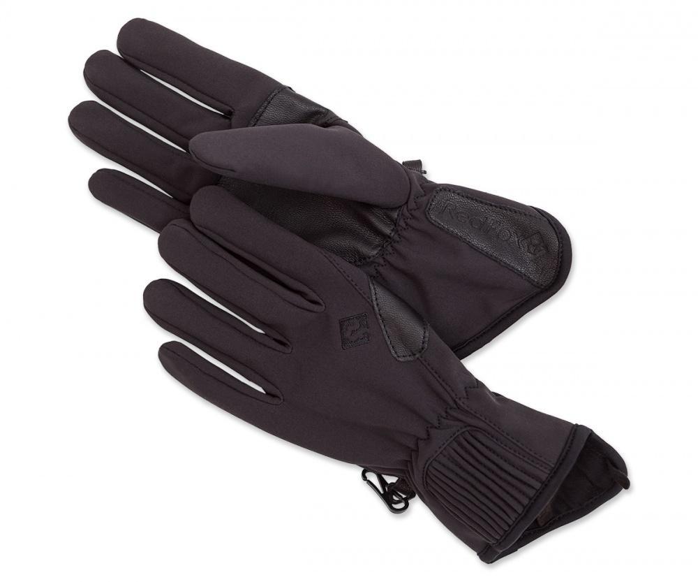Перчатки Shell ЖенскиеПерчатки<br><br> Легкие перчатки из материала SoftShell.<br><br><br> <br><br><br><br><br>Материал: 86% Polyester, 14% Spandex,335 g/sqm.<br>Материал 2: 80% nylon, 20% Spandex,151 g/sqm.<br>Усиление: кожа.<br>Асимметричный ди...<br><br>Цвет: Черный<br>Размер: M