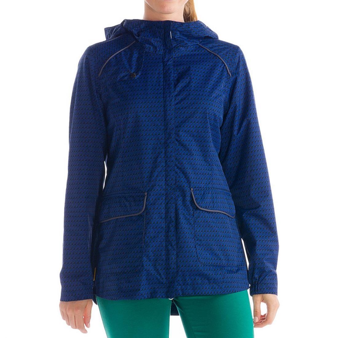 Куртка LUW0229 CAMDEN JACKETКуртки<br>CAMDEN JACKET – легкая женская куртка с капюшоном, которая может использоваться как ветровка, часть спортивной экипировки  или в качестве повсед...<br><br>Цвет: Темно-синий<br>Размер: S