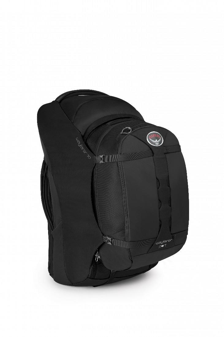 Сумка Wayfarer 70Сумки<br>Wayfarer 70   элитный женский рюкзак для путешествий на длинные дистанции. Оснащен полностью регулируемыми, убирающимися при необходимости ля...<br><br>Цвет: Темно-серый<br>Размер: 70 л
