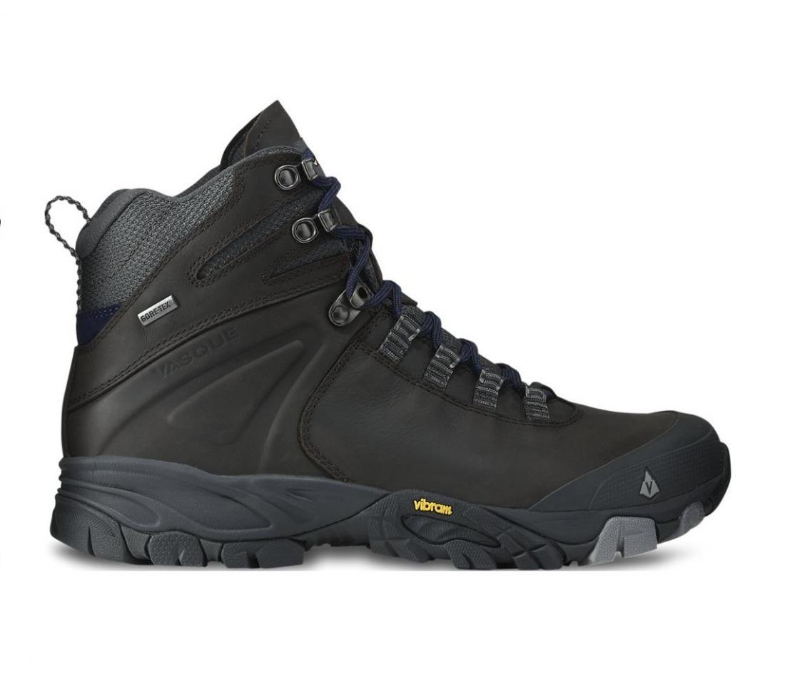 Ботинки 7082 Taku GTX мужскиеТреккинговые<br><br> Taku GTX это достаточно тонкий и легкий ботинок, но при этом износостойкий ботинок для походов и путешествий. Построенный на подошве Vibram Neo ...<br><br>Цвет: Черный<br>Размер: 8