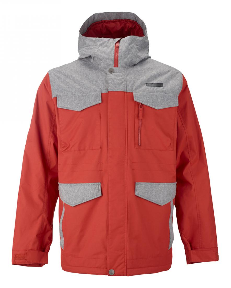 Куртка MB COVERT JK муж. г/лКуртки<br>В суровых условиях, когда снег и холодный ветер мешают идти к цели и ставить новые рекорды, горнолыжная мужская куртка Burton MB Covert JK станет верным решением. Эта модель предназначена для высочайшего комфорта в любую непогоду, и она отлично справляетс...<br><br>Цвет: Оранжевый<br>Размер: XL