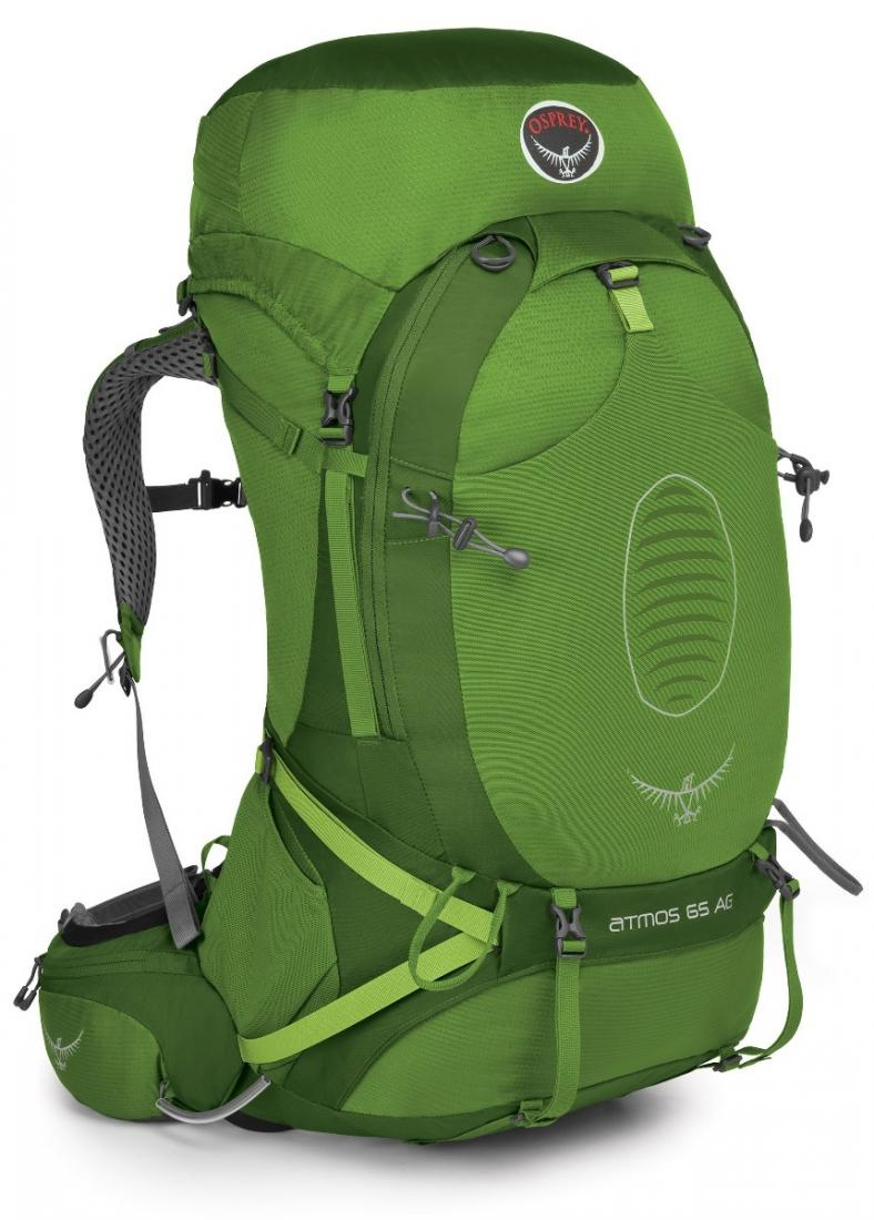 Osprey Рюкзак Atmos AG 65 (M, Absinthe Green, ,) osprey переноска poco ag seaside blue