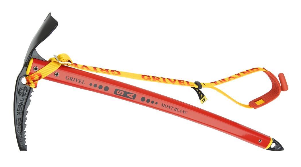 Ледоруб Grivel  NEPAL SA LONGЛедорубы<br>Усовершенствованная версия (изогнутое древко) классического альпинистского ледоруба для передвижения по снежному и ледовому рельефу и для восхождений по технически несложным маршрутам.<br><br>    Запатентованная загнутая рукоятка S.A. (Self Arr...<br><br>Цвет: Красный<br>Размер: 74 см
