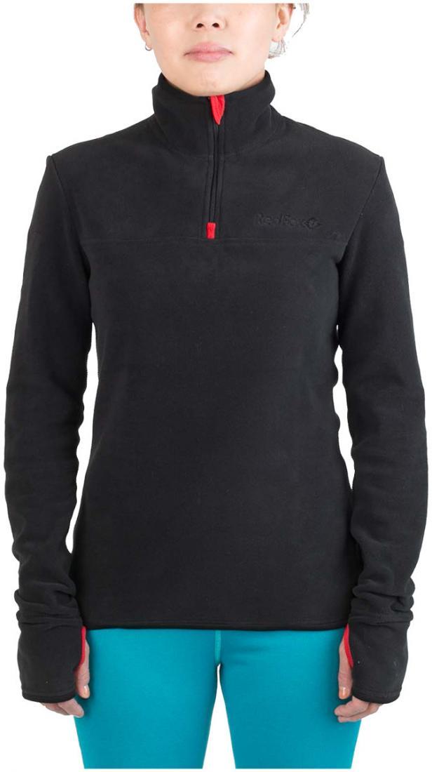 Термобелье пуловер Penguin 100 Micro ЖенскийПуловеры<br><br><br>Цвет: Черный<br>Размер: 44