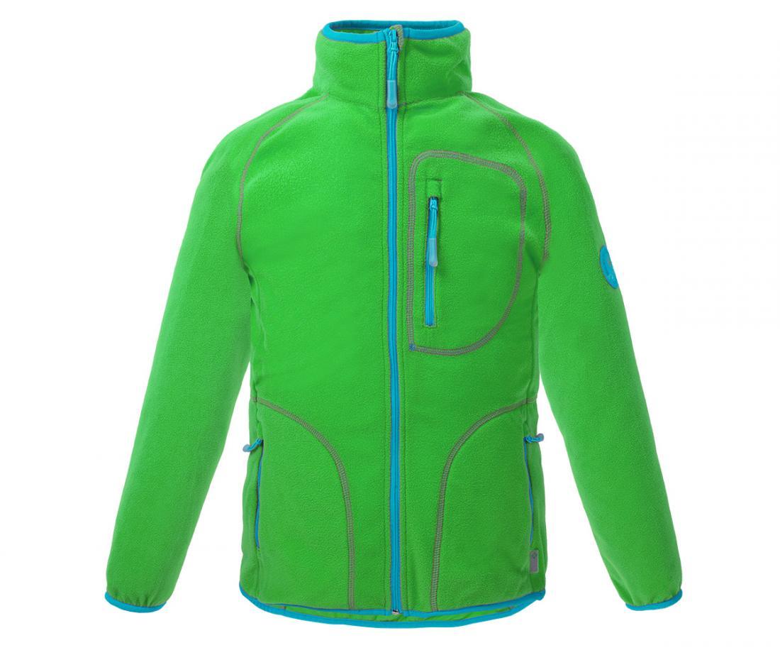 Куртка Hunny ДетскаяКуртки<br>Классическая куртка из флиса. Теплый уютный флис согреет вашего ребенка в прохладную погоду и станет превосходным дополнительным утеплением в морозное время года.<br> <br><br>Материал – Polar Fleece.<br>Защита для подбородка.<br>&lt;li...<br><br>Цвет: Зеленый<br>Размер: 152