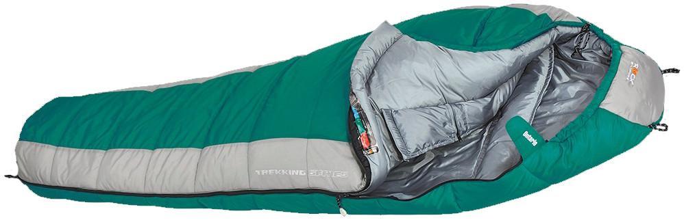 Спальный мешок ONTARIO regular RСпальные мешки<br>Популярный мешок для круглогодичного использования. Специальная защитная лента, предохраняющая ткань от попадания в молнию. Спальник ос...<br><br>Цвет: Зеленый<br>Размер: None