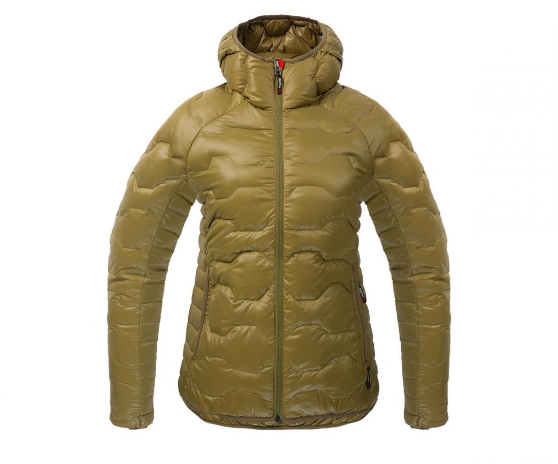 Куртка пуховая Belite III ЖенскаяКуртки<br><br> Легкая пуховая куртка с элементами спортивного дизайна. Соотношение малого веса и высоких тепловых свойств позволяет двигаться активно в течении всего дня. Может быть надета как на тонкий нижний слой, так и на объемное изделие второго слоя.<br><br>...<br><br>Цвет: Коричневый<br>Размер: 42
